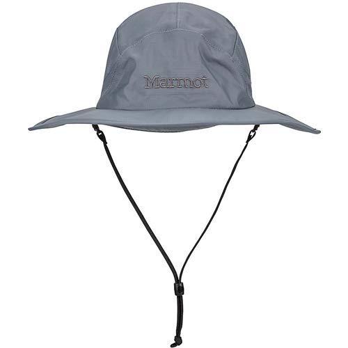 Marmot PreCip Safari Hat - Men's Steel Onyx, (Precip Safari Hat)