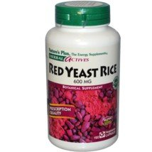 Nature's Plus - Herbal Actives Red Yeast Rice 600 mg Vcaps, 120 count