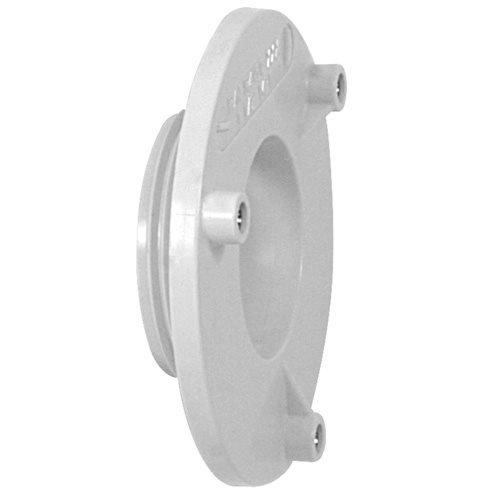 White AquaStar R415T101 Retrofit 4 Bulkhead Adapter Plate for 1-1//2 Sumpless Bulkhead Fitting