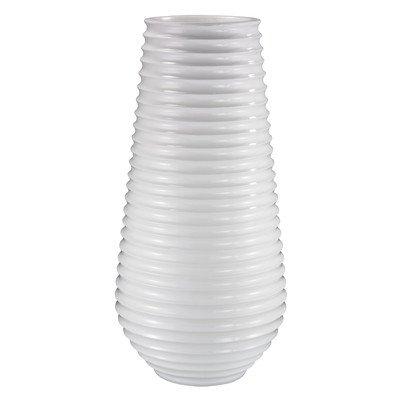 Round Pot Planter Finish: Glossy White
