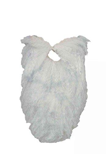 [Forum Novelties 61773 Full Beard & Moustache, White] (Costumes With Beards)