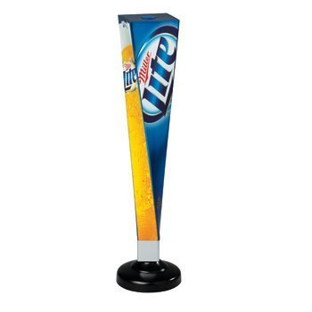 Miller Lite Vortex Beer Tap Handle | Draft Handle | Tap Marker