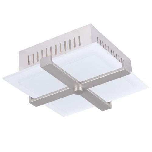 Livex Lighting 7084-91 Odyssey 2 Light Ceiling Mount, Brushe