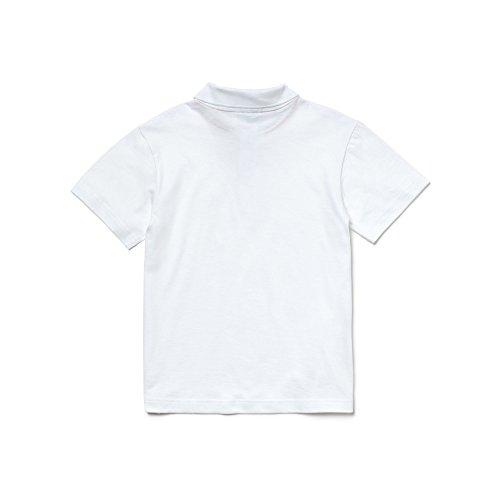 Polo Lacoste Blanc blanc Garçon 001 87Zdq1