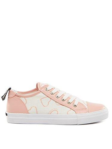 Love Moschino - Zapatillas de tela para mujer rosa Rosa