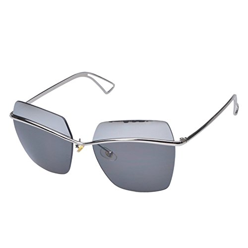 MosierBizne The New Card Is Still Fashionable Ms Yi Rimless Glasses - To How Face Make Glasses Tighter On