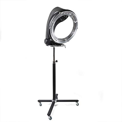 Hair Dryer Professional Orbiting Rollerball Infrared Stand Hair Dryer Color Processor Salon