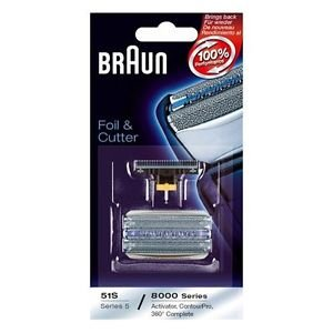 Braun 51s 8000 Series 360 Replacement Electric Shaver Foil a