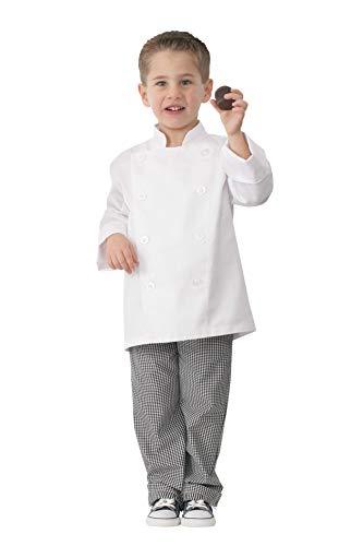 Chef Works Kid's Chef Coat, White, Medium