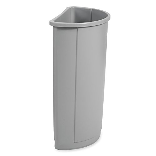 Rubbermaid Commercial Untouchable Trash Can, 21 Gallon, Gray, FG352000GRAY