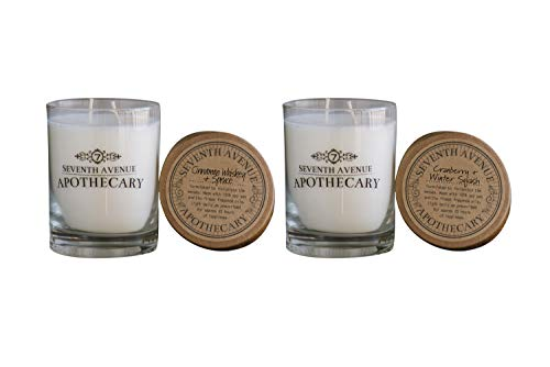 Seventh Avenue Apothecary Candles - Cinnamon Whiskey + Spruce/Cider + Mulled Spices (Combo Pack)