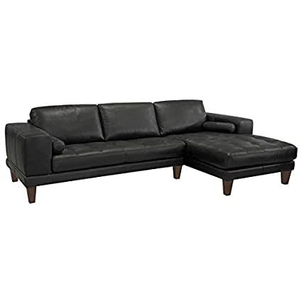 Superb Amazon Com Hawthorne Collections Leather Right Facing Alphanode Cool Chair Designs And Ideas Alphanodeonline