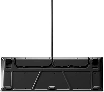 SteelSeries Apex Teclado mecánico para Juegos - Pantalla Inteligente OLED - Pasaje USB y Controles Multimedia - Lineal y silencioso, Whisper Silencioso – Tacto y Silencioso, Apex 3 8