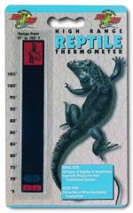 Zoo Med High Range - Med Zoo Range Thermometer High