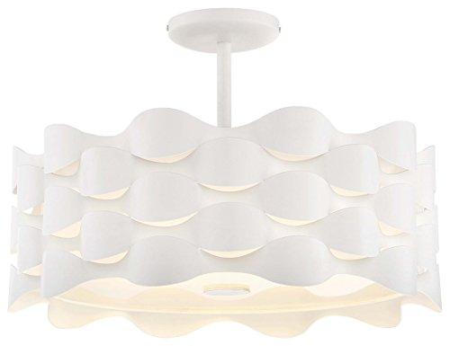 (George Kovacs P1302-655-L LED Semi Flush)