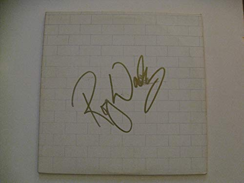 Roger Waters autographed signed Pink Floyd The Wall Vinyl LP Record COA Slight smudge