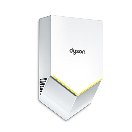 Dyson Airblade V HU02-W-LV Hand Dryer, White ABS, 110-120V, ADA Compliant