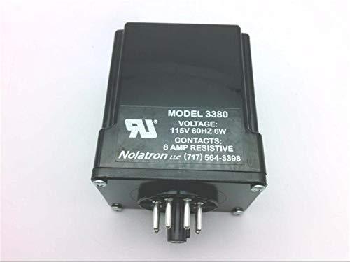 NOLATRON 3380 Anti-TIEDOWN Module, 8-PIN OCTAL, 115V, 60HZ, 6W, Contacts, 8AMP RESISTIVE
