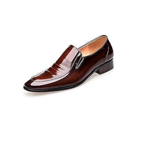 De Boda Empresarial Zapatos Zapatos Vestir Encaje De Los De Patente De Hombres venta En Trabajo vwf4ZZ