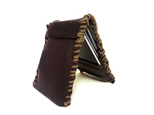 DMT : Dark Mocca Tan : Leather Card Wallet