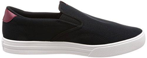 Slip De Chaussures Set on Tennis Noir Homme Vs Adidas Pour wqPRn