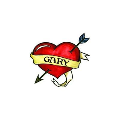 Gary Temporaray Tattoo: Toys & Games [5Bkhe0504236]