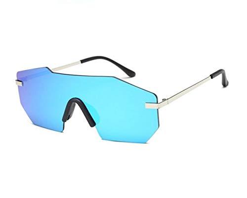 Gafas Irregular Silver Decoración Gafas Conducción sol Protección Forma de Mujeres Al libre FlowerKui Moda Hombres aire UV400 Ciclismo Gafas sol Pesca de Bx1AxqUw