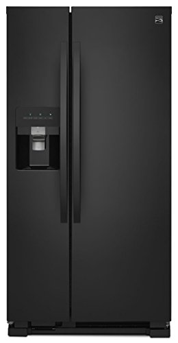 Kenmore 51759 21 cu. ft. Side-by-Side Refrigerator, Black