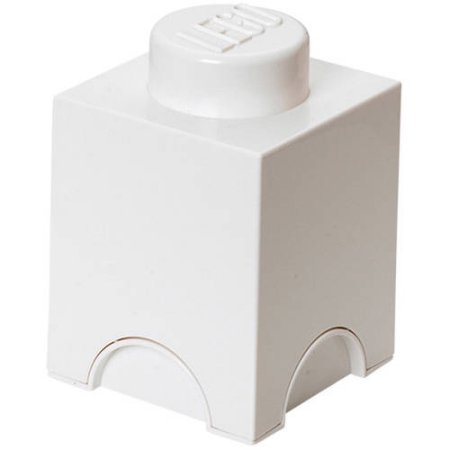 LEGO Storage Brick 1 White