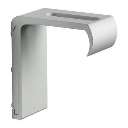 Ikea Kvartal - Supporto da parete in alluminio per mensole: Amazon ...