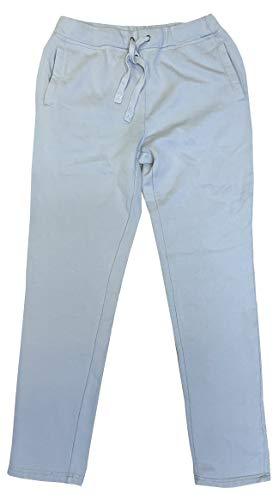 Fila Men's Vintage Fleece Lined Atheltic Sweatpants (Light Grey, M) (Mens Fila Sport Fleece 2-0 Jogger Pants)