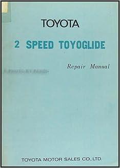 1971 1973 Toyota Corolla Automatic Transmission Repair Shop
