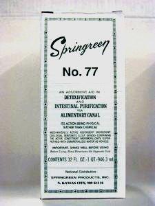 No.77 Detox & Intestin Purification 32oz (Springreen)