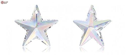 Swarovski crystal Star Ornament AB Crystal, wedding decoration, party favor,party table décor,Crystal Accent (Crystals Stars Swarovski Chandelier)