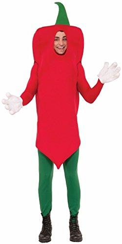 Forum Novelties Hot Pepper Costume, Red, -