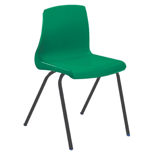 Metalliform np6-mc-sp-green standard Classroom sedia con cuscino per sedia, verde