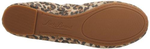 Lucky Brand Emmie Scarpe Ballerine Taglia, (Luxe Leopard), 35.5