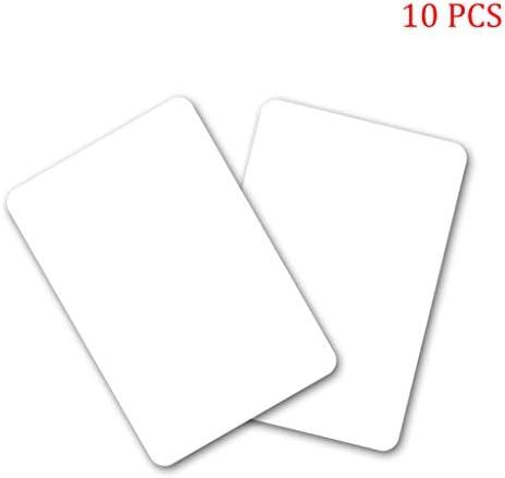 chenpaif 10PCS NTAG215 Nicht druckbare NFC-Tags Karten Wiederbeschreibbare weiße Leere Smart Durable PVC-Karte