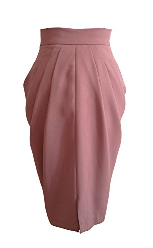 Draped Cowl Skirt