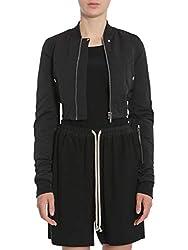Drkshdw By Rick Owens Women S Ds17f2715mu09 Black Cotton Jacket