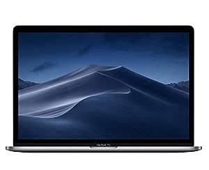 Apple MacBook Pro 2019 Model (15-Inch, Intel Core i7, 2.6Ghz, 16GB, 256GB, Touch Bar, 4 Thunderbolt3 Ports, MV902), Eng KB, Space Grey