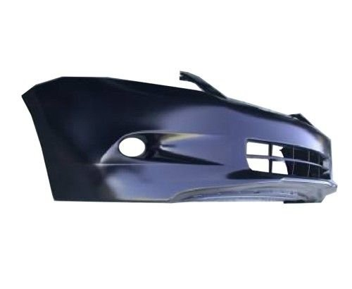 OE Replacement Honda Accord Front Bumper Cover (Partslink Number HO1000255) (2009 Honda Accord Front Bumper)