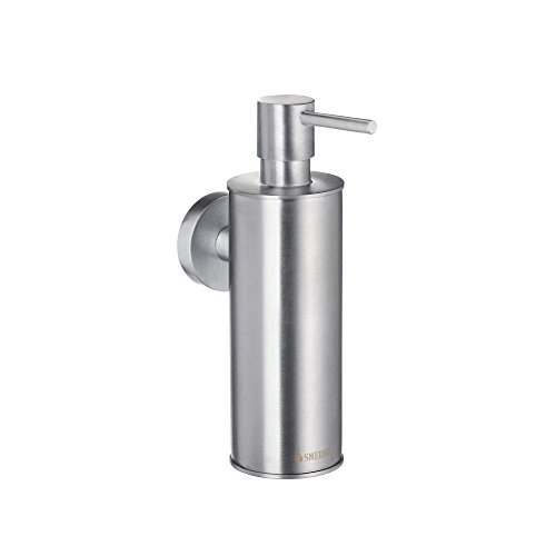 Home Wall Mount Soap and Lotion Dispenser Finish: Brushed chrome - Smedbo Brass Soap Dispenser