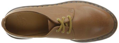 Dr. Martens DORIAN  Rugged Servo Lux BROWN - Zapatos con cordones de cuero hombre Marrón