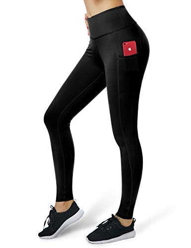 Sexy Women Yoga Mesh Splice Tight Elastic Waist Stretch Legging Pant With Pocket Good Companions For Children As Well As Adults Fitness, Running & Yoga