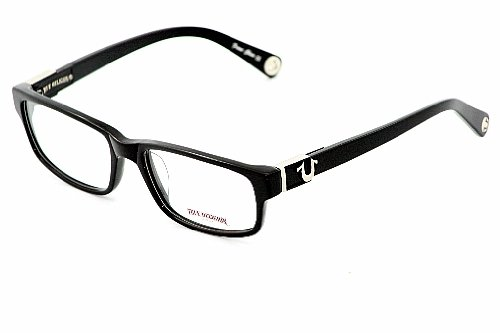 TRUE RELIGION Dallas Eyeglasses Black Horn Optical Frames: Amazon.co ...