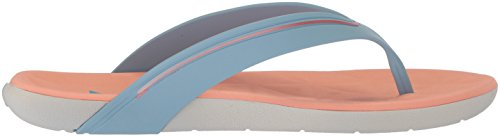 Rider Womens Elite Flip-Flop Grey/Blue/Orange en3adIasVP