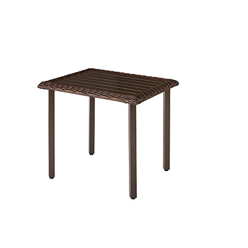 Mill Valley 30 in. x 24.5 in. Rectangular Patio Bistro Table by Hampton Bay
