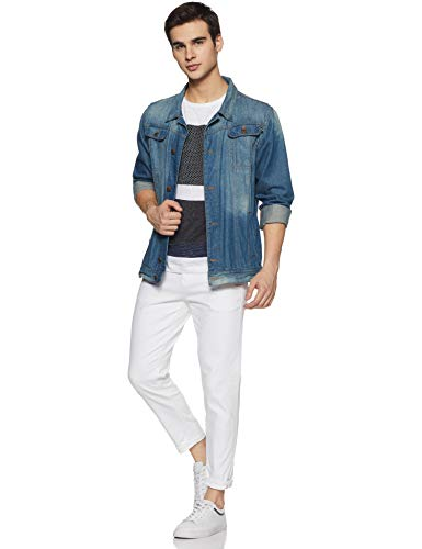 Flying Machine Men White Jeans 2021 June Care Instructions: Machine Wash Fit Type: Slim Mid-Rise Waist