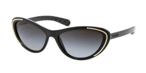 Gafas de Sol Chanel CH6039 BLACK/GRAY GRADIENT: Amazon.es ...